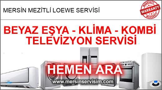 Mersin Mezitli Loewe Servisi